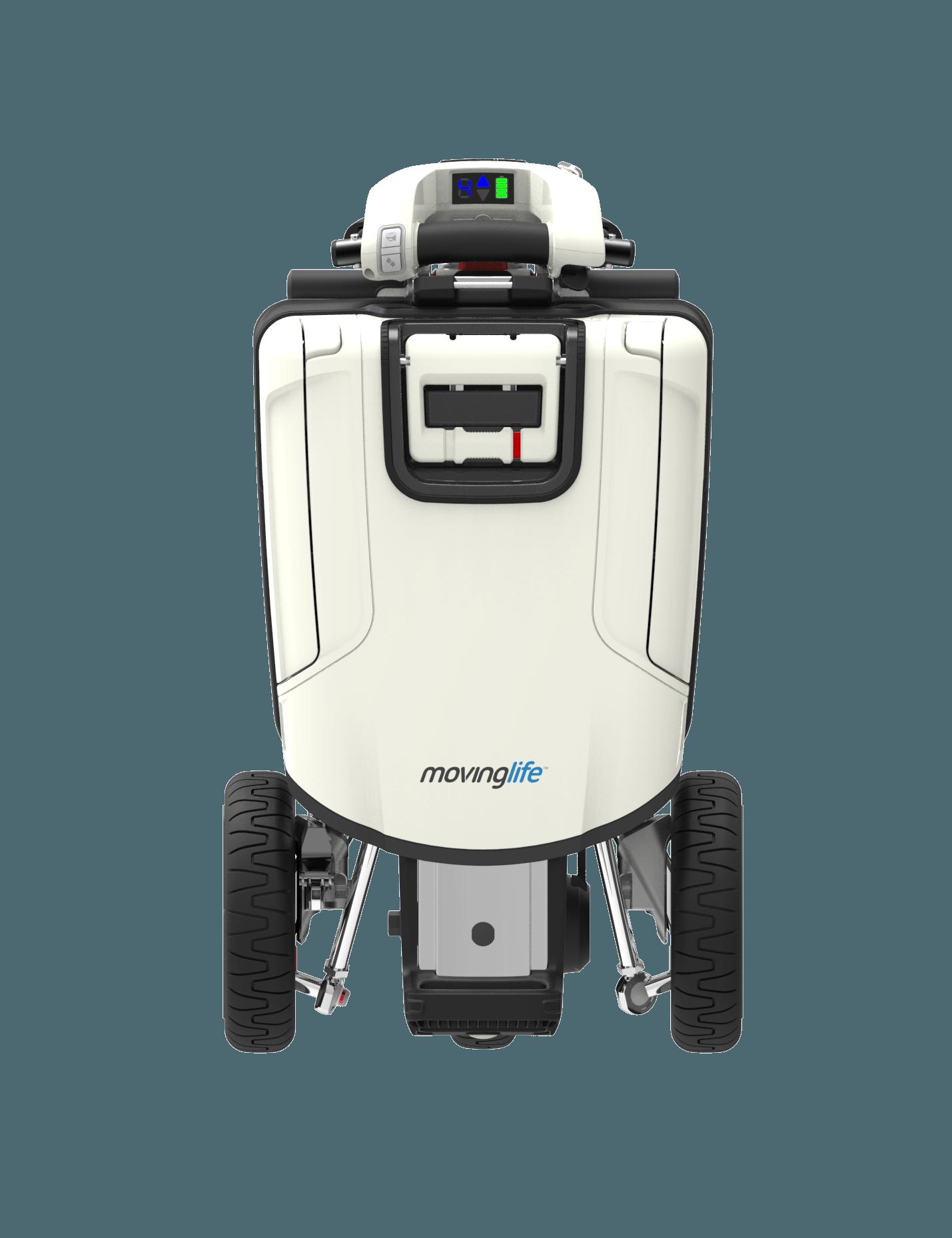 de enige en eerste opvouwbare mobiliteitsscooter