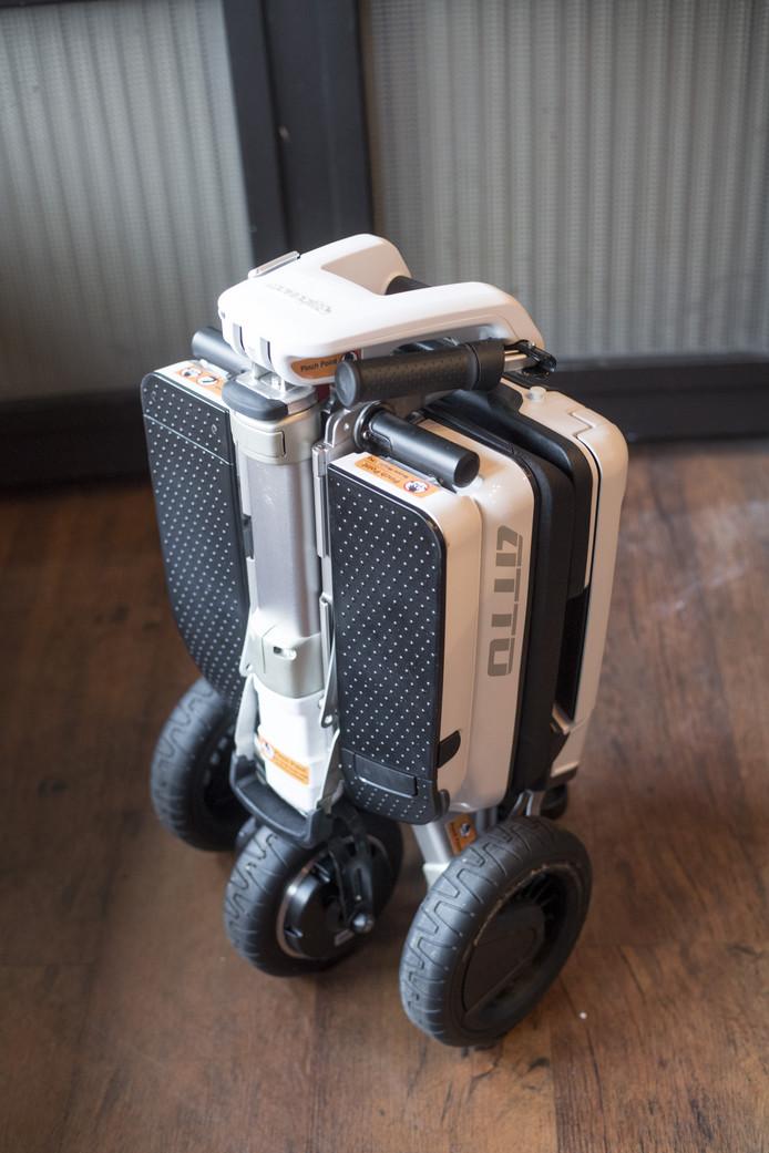De ATTO inklapbare scootmobielkost 3250 euro. Bestel bijcuranovum.nl